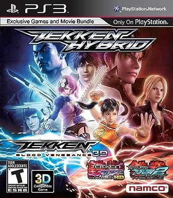 Amazon Com Tekken Hybrid Playstation 3 Video Games