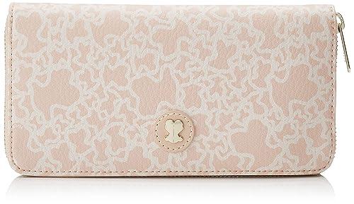 TOUS 795790015, Monedero para Mujer, (Rosa), 19.5x11x2 cm (W ...