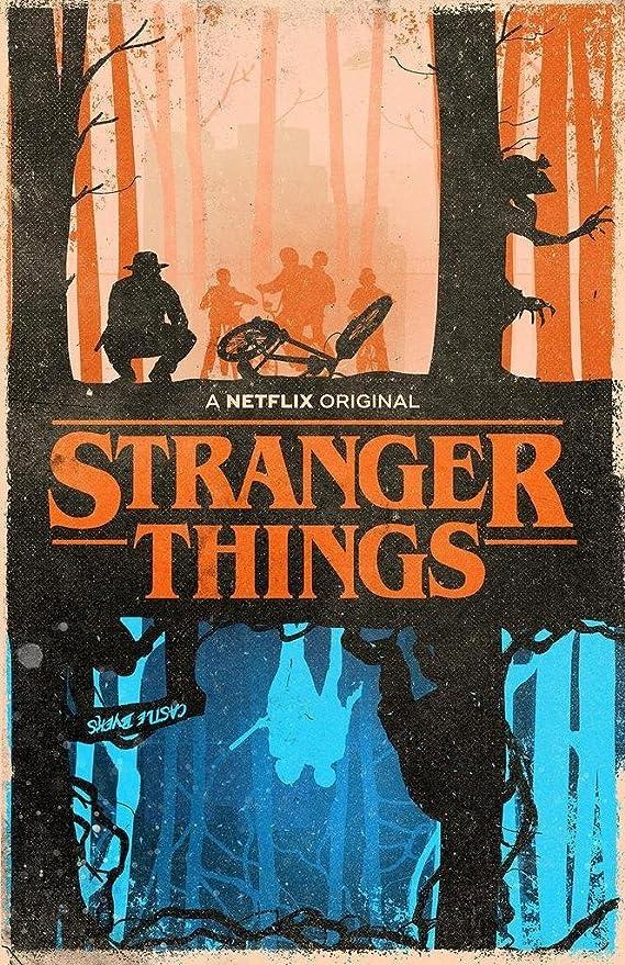Amazon.com: Stranger cosas (Serie de televisión) Póster 12 ...