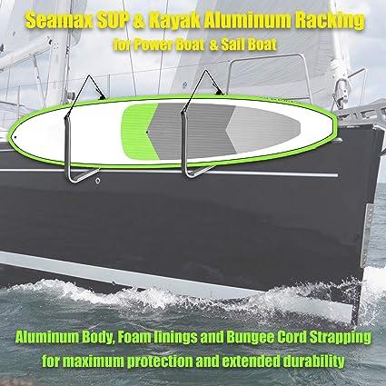 Amazon.com: SEAMAX SUP y Kayak Estante de almacenamiento con ...