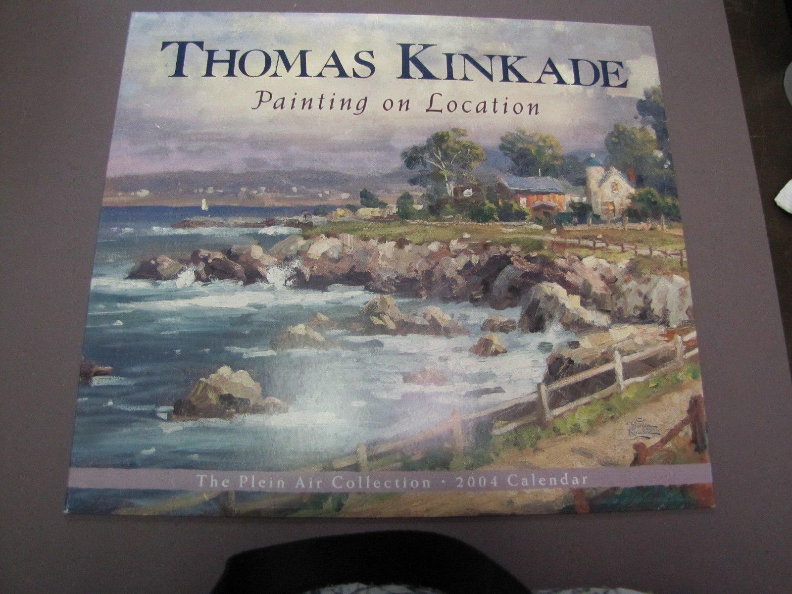 Thomas Kinkade 2004 Calendar Painting On Location The Plein Air Collection ebook