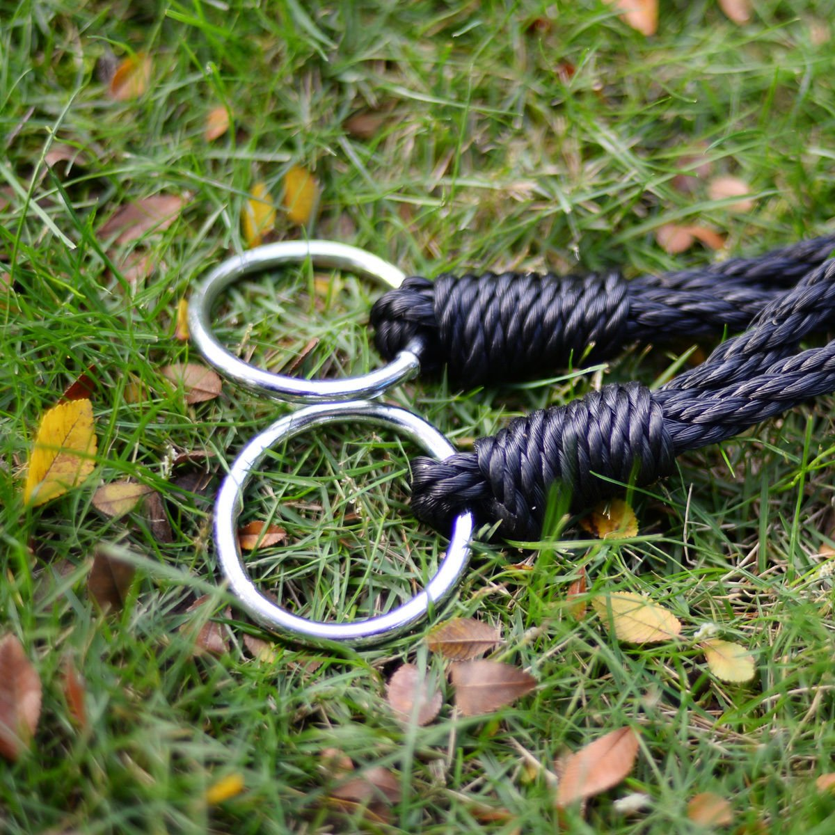 Platform Tree Spider Web Swing Kid Mesh 220 LBS 40'' Wide Hook Hanger Black Standard Web Hangers - House Deals by House Deals (Image #8)
