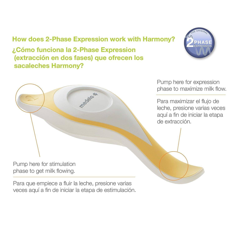 amazon com medela manual breast pump harmony breast pump rh frazier com Medela Harmony Pump Medela Hand Pump Directions