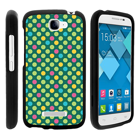 Alcatel Pop Icon Case, Perfect Fit Cell Phone Case Hard Cover with Cute  Design Patterns for Alcatel POP ICON A564C, Alcatel One Touch Fierce 2  7040T