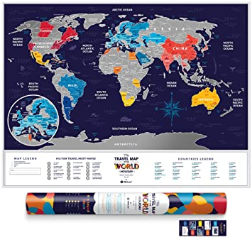Deluxe silver scratch places off world poster travel edition 80 deluxe silver scratch places off world poster travel edition 80 x 60 large gumiabroncs Choice Image
