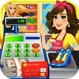 amazon charge card application - Mall & Supermarket Shopping Girl Simulator - Cashier & Cash Register Kids Games FREE