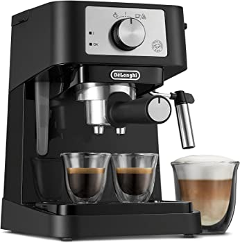 De'Longhi Compact Design And Simple Operation Commercial Espresso Machine