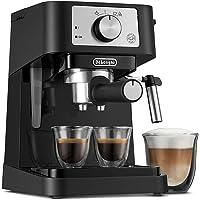 De'Longhi Stilosa EC260BK - Cafetera Tipo Barista para Espresso, Lungo y Cappuccino, Diseñada en Italia