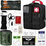 """EVERLIT Emergency Trauma Kit GEN-I with Aluminum Tourniquet 36"""" Splint, Military Combat Tactical IFAK for First Aid Response,"""