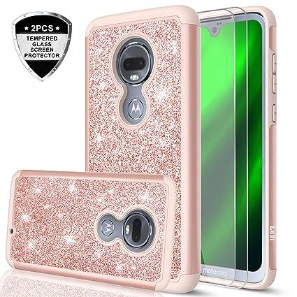 Amazon.com: Moto G7 Glitter Case, Motorola Moto G7 Funda ...
