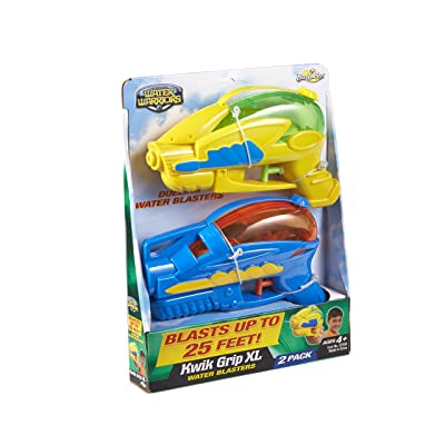 Buzz Bee Toys Water Warriors Kwik Grip XL Water Blasters 2 Pack: Toys & Games