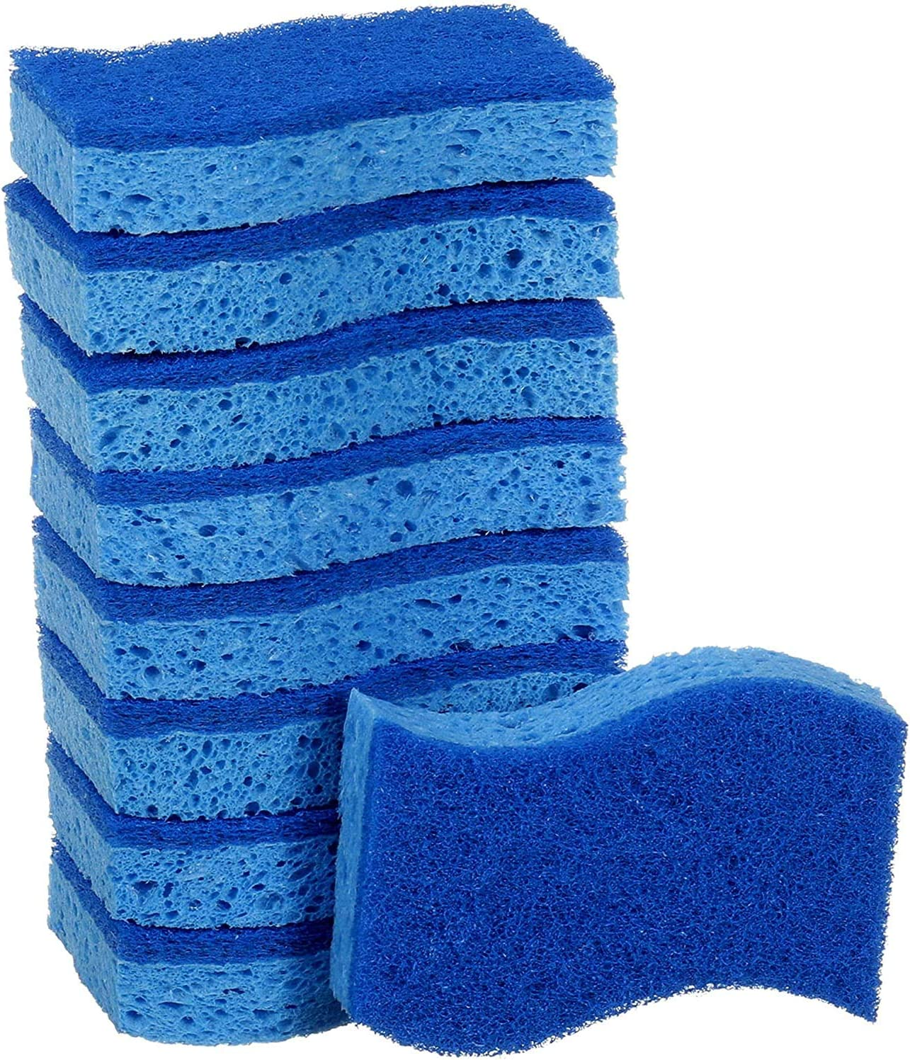 Scotch-Brite Non-Scratch Scrub Sponges 9 Scrub Sponges Lasts 50/% Longer Than The Leading National Value Brand .1 Pack - 9 Count