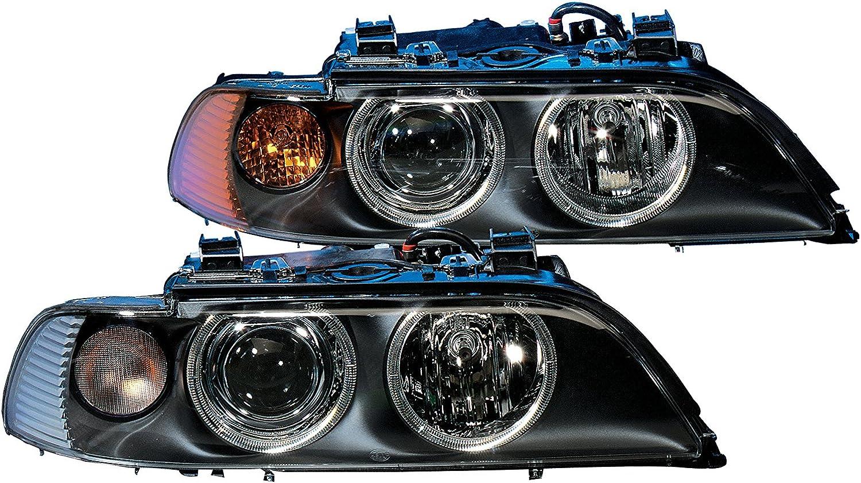 alcance luces con servomotor para reg HELLA 1EL 008 053-581 Hal/ógena Projecteur principal Sin luz din/ámica de curva con l/ámpara derecha