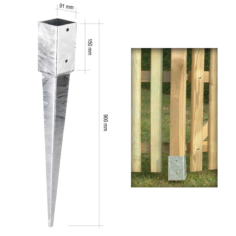 Gartenpirat - tierra funda de impacto postes suelo funda de ...