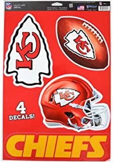 d54fdeaa2 Official National Football League Fan Shop Licensed NFL Shop Multi-use  Decals (Kansas City