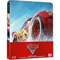 Cars 3 - Steelbook (BD 3D + 2D) [Blu-ray]