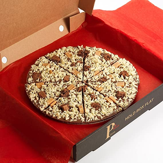 The Gourmet Chocolate Pizza 7 Inch Crunchy Munchy Chocolate Pizza