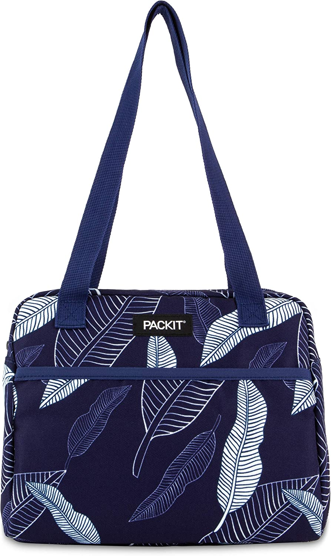 dise/ño de hojas Packit 2221 Freezable Hampton-Fiambrera color azul marino