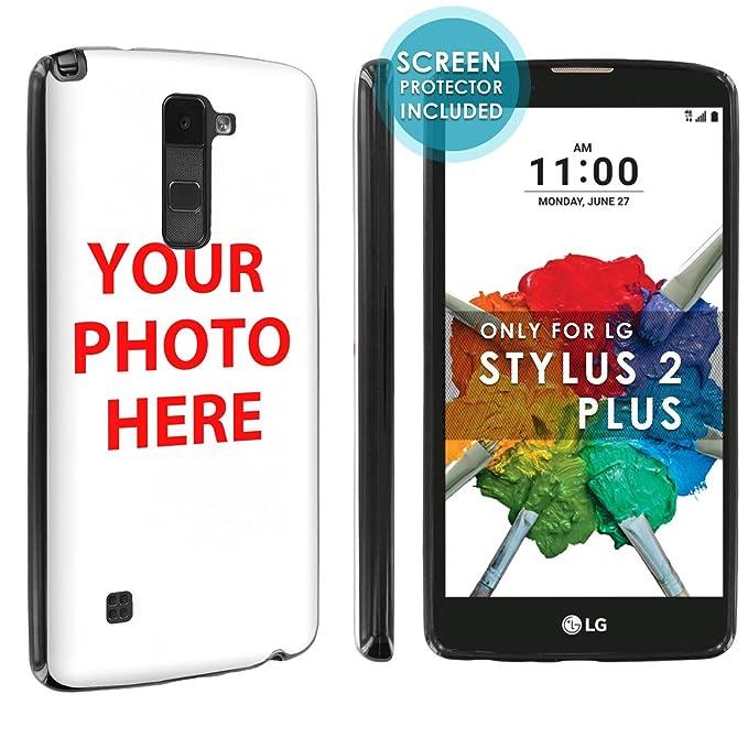 free shipping 09008 0d8f3 Amazon.com: [Nakedshield] Custom Case For LG Stylo [2 PLUS] Create ...
