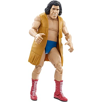 WWE Andre the Giant Elite Collection Action Figure: Toys & Games [5Bkhe2003713]