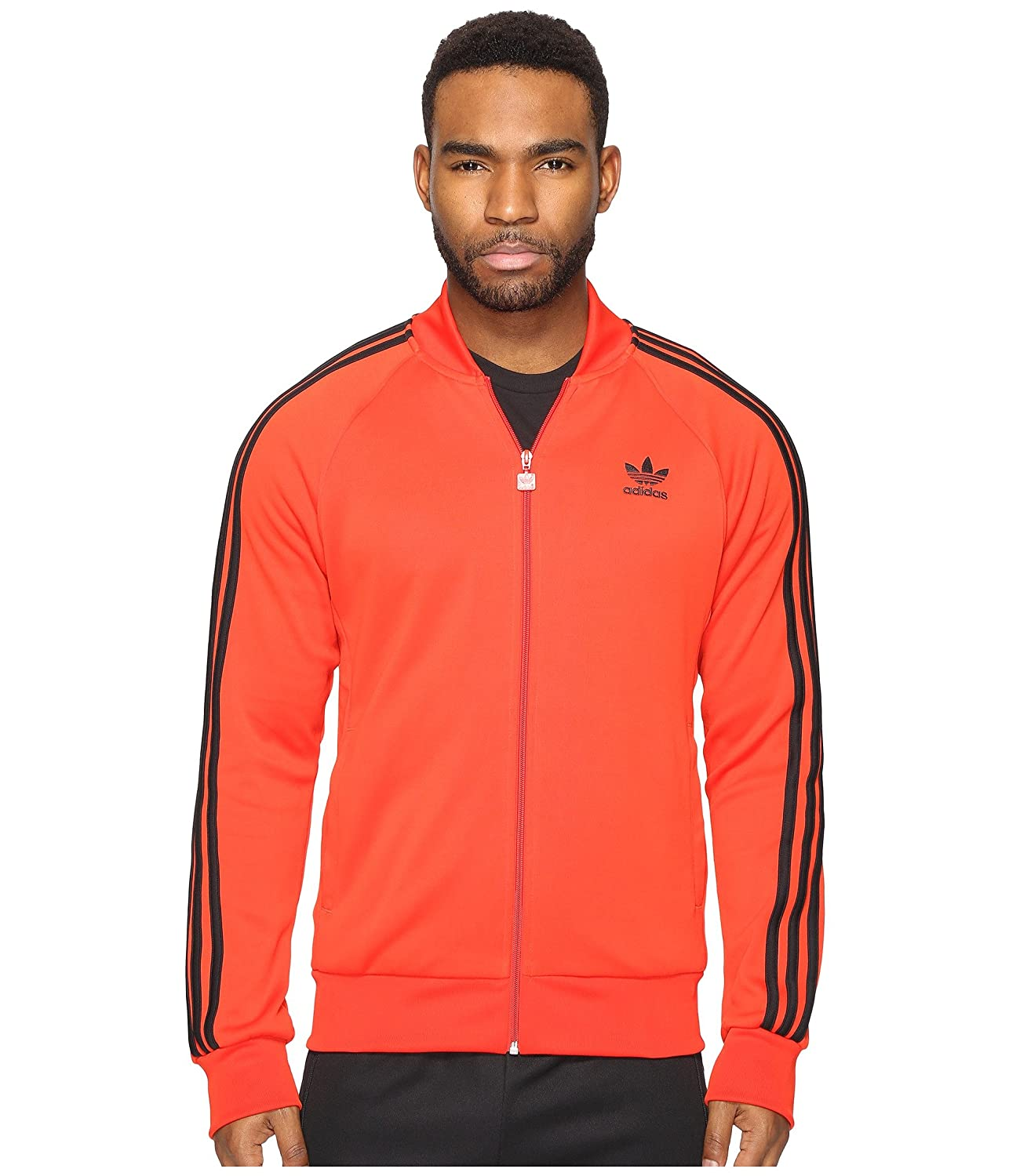 [アディダス] adidas Originals メンズ Superstar Track Top ジャケット [並行輸入品] B06WLGT833 Small|Core Red Core Red Small