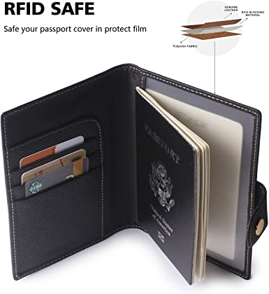 Spots Background Shadow Texture Leather Passport Holder Cover Case Travel One Pocket