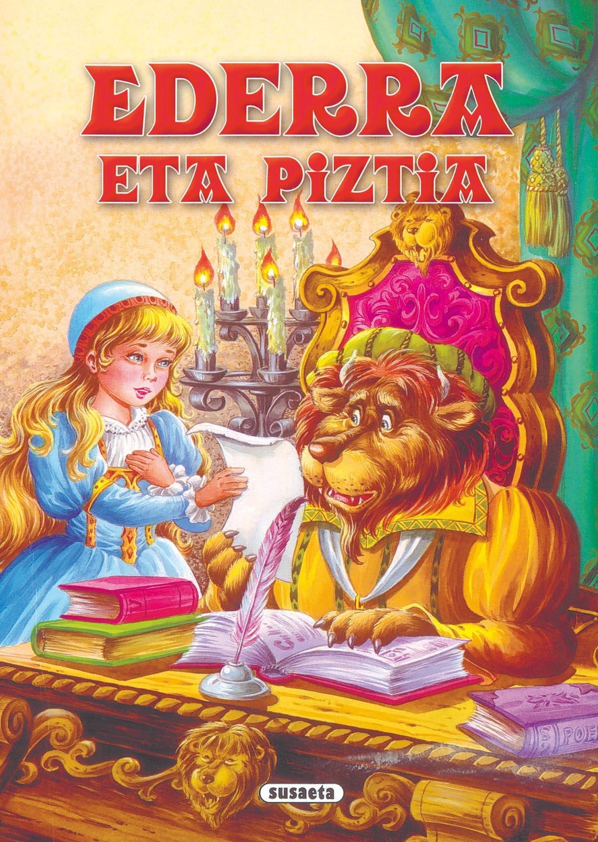 Ederra eta piztia (Arlekin Bilduma) (Euskera) Libro de cartón – 9 nov 2016 Equipo Susaeta 8467701676 Cuentos tradicionales Libros Ilustrados