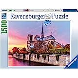 Ravensburger Notre Dame Al Atardecer Rompecabezas de 1500 Piezas, Multicolor, 16345