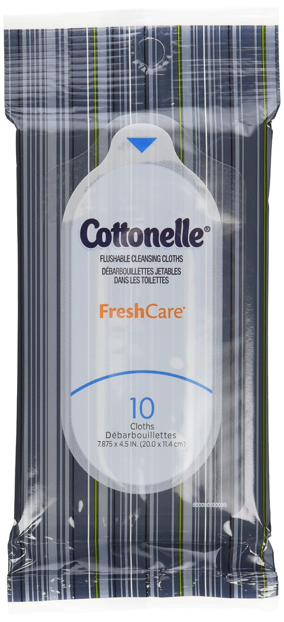 Cottonelle Fresh Care Flushable Wipes, Travel Pack, 12 Travel Packs of 10 Cloths Each (120Ct) by Cottonelle
