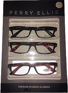 f81887a13e Perry Round Rectangle Plastic Reading Glass. PER 26 Brown Black Multi 1.5