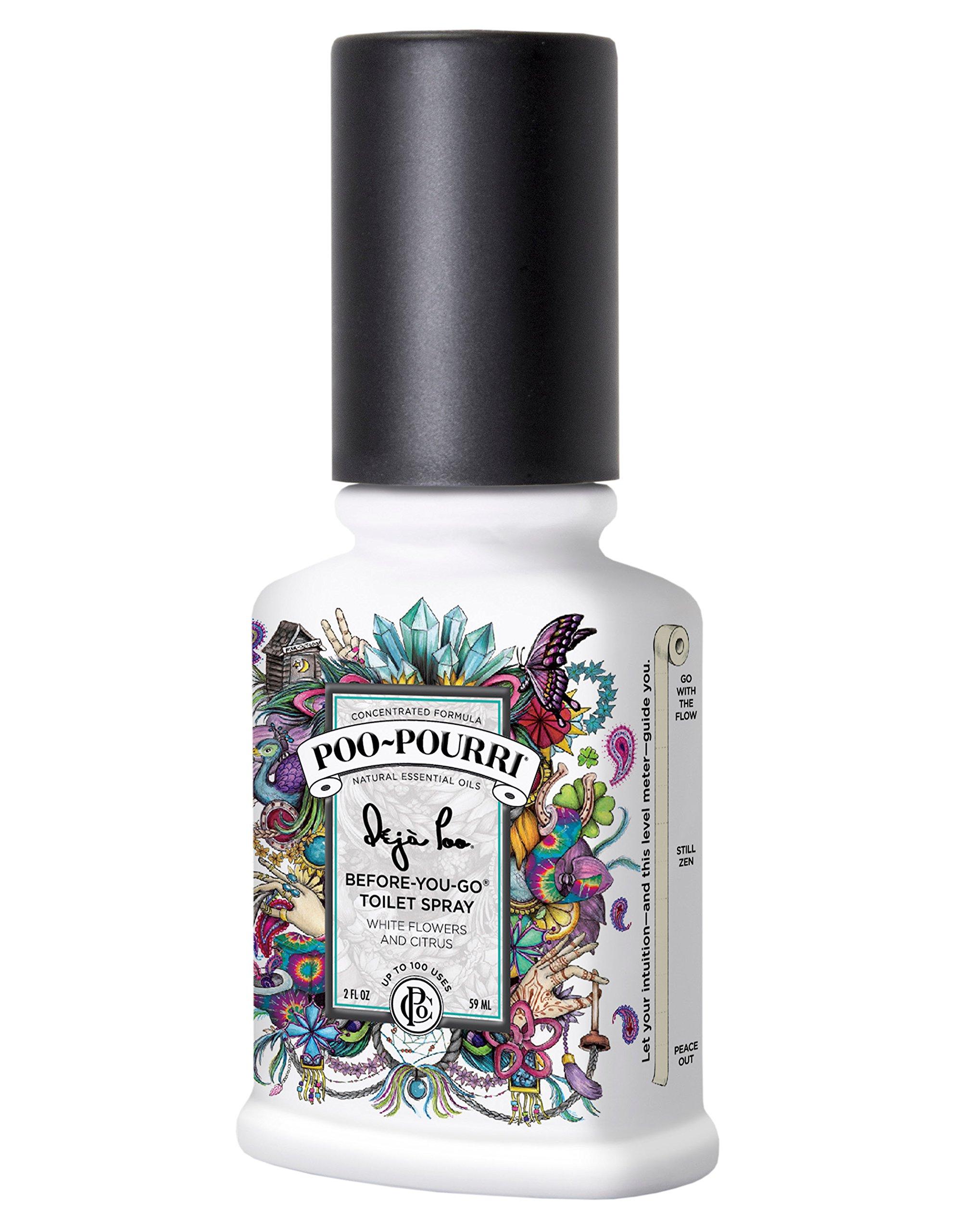 Poo-Pourri Before-You-Go Toilet Spray 2-Ounce Bottle, Deja Poo Scent