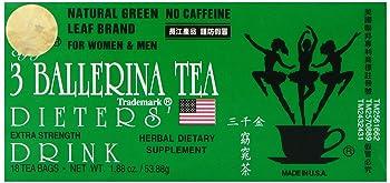 3 Ballerina natural and herbal detox tea