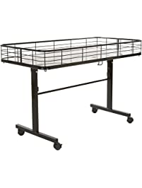 Econoco Commercial Folding Dump Table Black