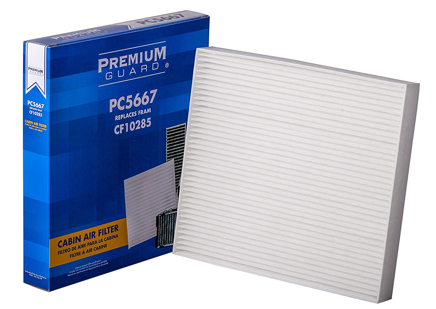 Premium Guard PC5667 Cabin Air Filter PC5667-PGF