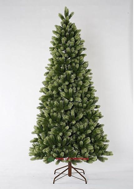 king of christmas 9 foot royal fir slim quick shape christmas tree