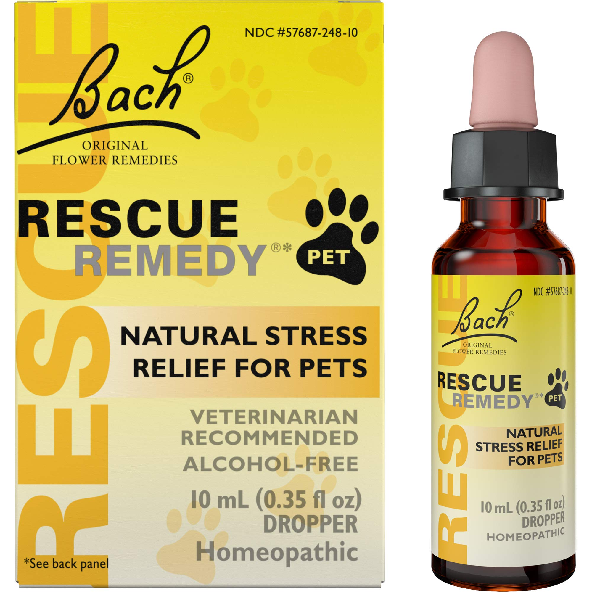 REScue Natural Homeopathic Stress Relief Drops for Pets
