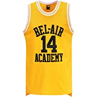 815e4f5ce7c MOLPE Smith  14 Bel Air Academy Yellow Basketball Jersey S-XXXL