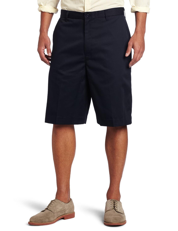 Classroom Men's Flat Front Short, Dark Navy, 32