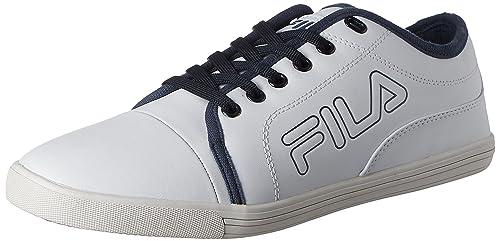 cfa1bbe6ab97 Fila Men s Lavadro Iv White Sneakers -9 UK India (43 EU)  Buy Online ...