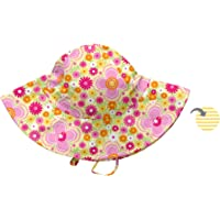 I Play Baby 715418137261 Brim Çift Yönlü Bebek Şapkası, Sarı, 0-6 Ay