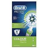 Oral-B Pro 600 Crossaction Green Edition Braun Spazzolino Elettrico Ricaricabile