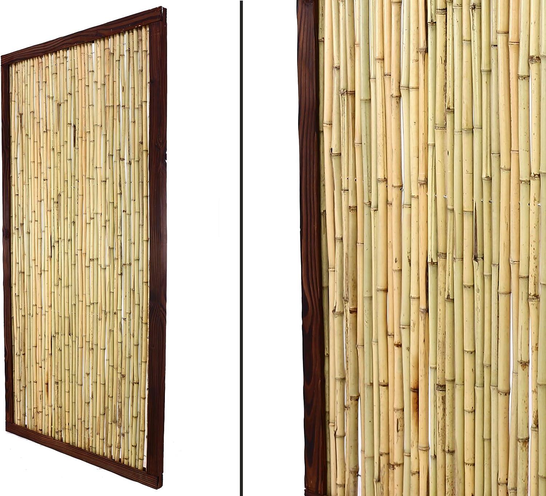 Amazon De Bambus Discount Com Bambuszaun Kohsamui Klassik