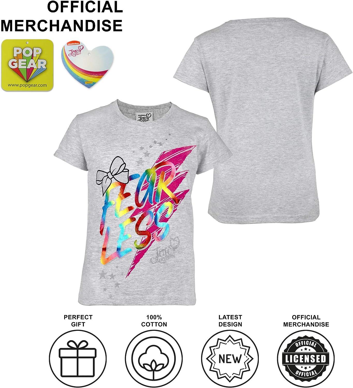 Official Merchandise JoJo Siwa Fearless Girls T-Shirt
