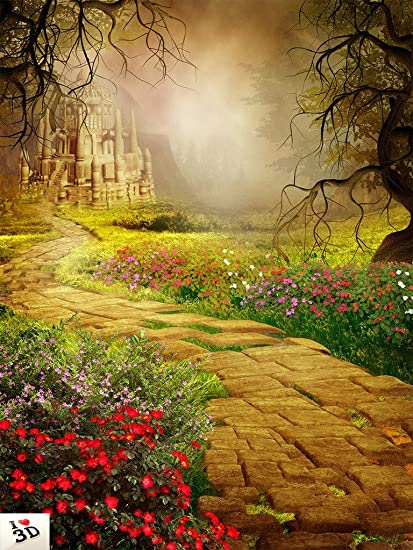 Kayra Decor Fairytale Background 3D Wallpaper Print Decal Deco Indoor Wall Mural
