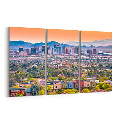 Image Unavailable. Image not available for. Color: Phoenix Skyline Wall ...