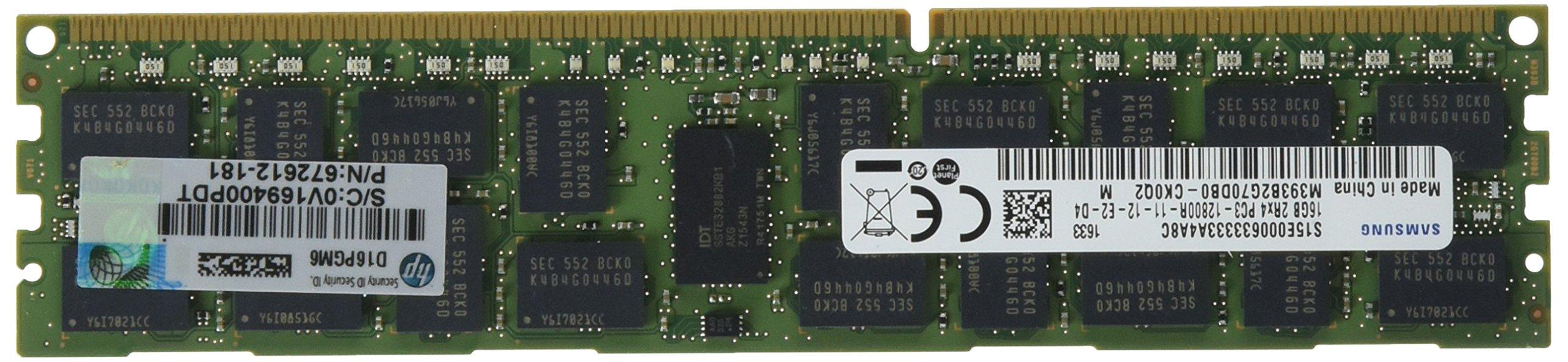 HP 16 GB DDR3 1600 (PC3 12800) RAM 672633-B21