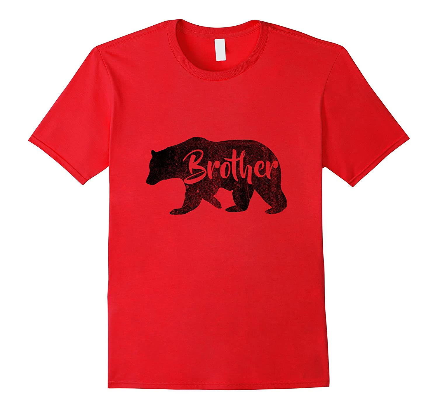Boys Brother Bear T-Shirt Awesome Camping Tee-Vaci