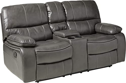 Global Furniture Console Reclining Loveseat