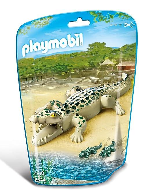 15 opinioni per Playmobil 6644- Alligatore con Cuccioli, 3 Pezzi