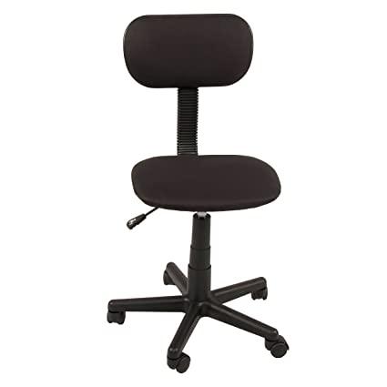Charmant Innovex C0886F29 Student Low Back Upholstered Fabric Armless Height  Adjustable Swiveling Computer Office Task Chair With